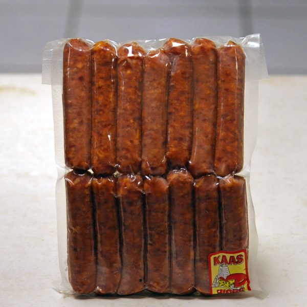Bacon & Cheese wors for sale
