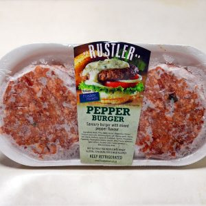 Rustler pepper burger patties